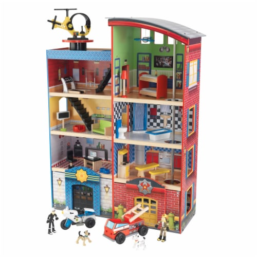 KidKraft Hometown Heroes Play Set Perspective: front