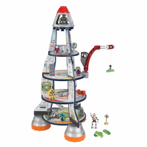 KidKraft Rocket Ship Play Set Perspective: front