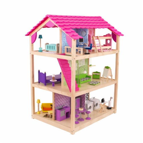 KidKraft So Chic Dollhouse Perspective: front