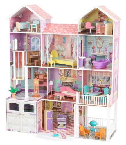 KidKraft Country Estate Dollhouse Perspective: front