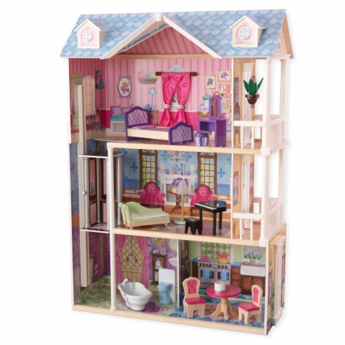 KidKraft My Dreamy Dollhouse Perspective: front