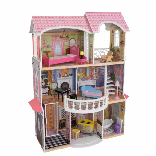 KidKraft Magnolia Mansion Dollhouse Perspective: front