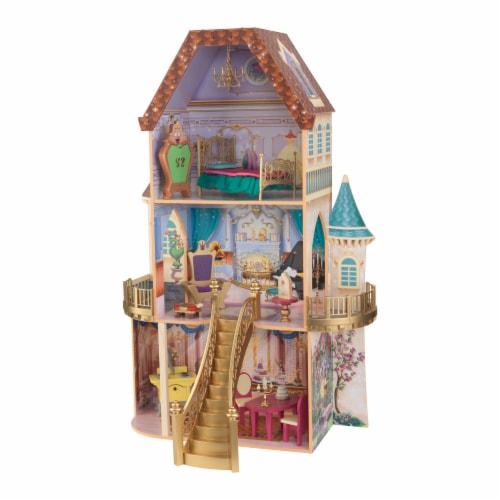 KidKraft Disney® Princess Belle Enchanted Dollhouse Perspective: front
