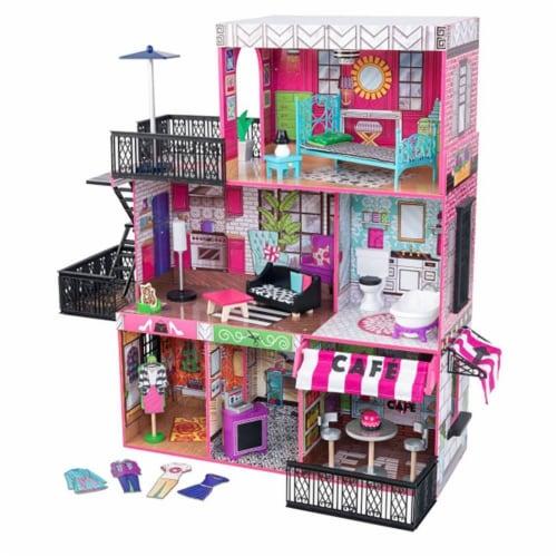 KidKraft Brooklyn's Loft Dollhouse Perspective: front