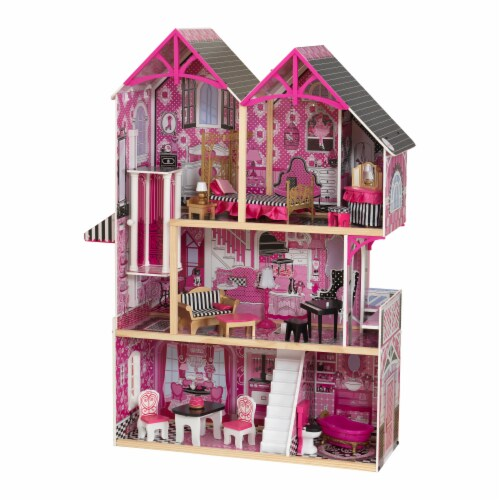KidKraft Bella Dollhouse Perspective: front