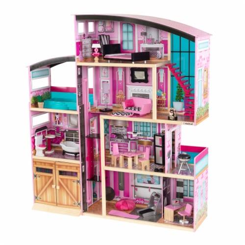 KidKraft Shimmer Mansion Perspective: front