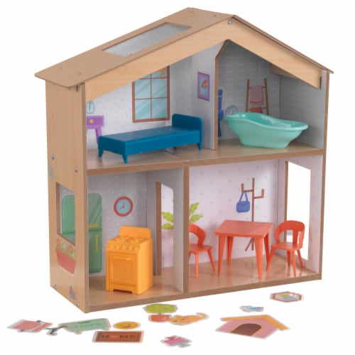 KidKraft Designed by Me™: Sticker Fun House Perspective: front