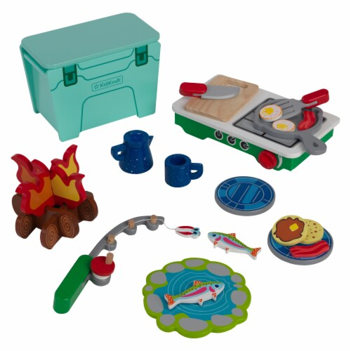 KidKraft Let's Pretend: Camping Cookout Perspective: front