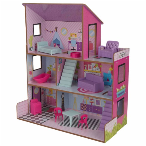 KidKraft Lolly Dollhouse Perspective: front