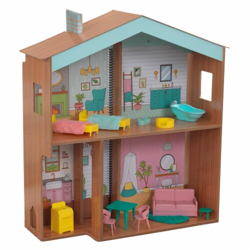 KidKraft Designed by Me™:Color Decor Dollhouse Perspective: front