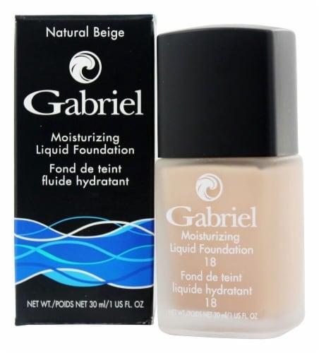 Gabriel Natural Beige Moisture Liquid Foundation Perspective: front