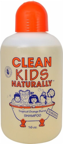 Clean Kids Naturally Shampoo Perspective: front