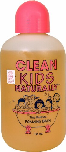 Clean Kids Naturally Tiny Bubbles Foaming Bath Perspective: front