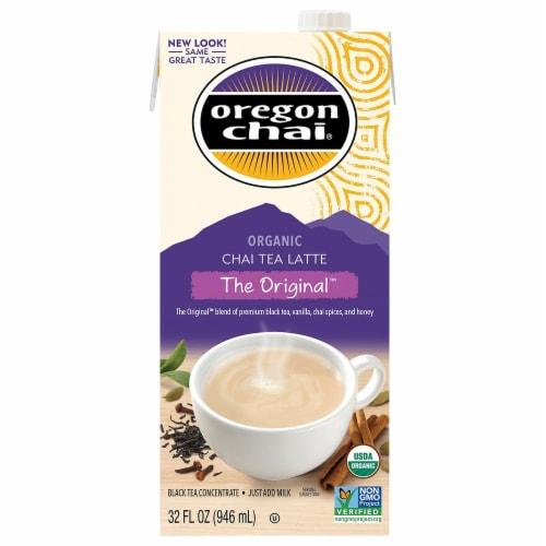 Oregon Chai Organic Original Chai Tea Latte Perspective: front