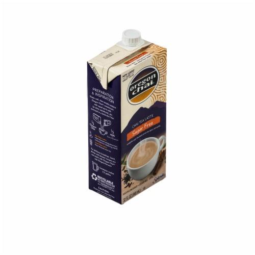 Oregon Chai Sugar Free Latte Black Tea Concentrate Perspective: front