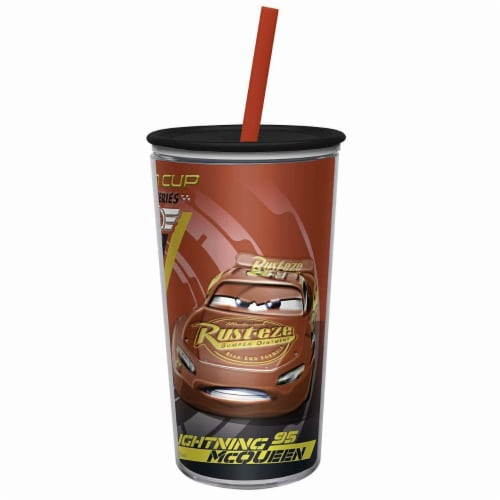 Zak! Designs Disney Cars Double Wall Tumbler Perspective: front