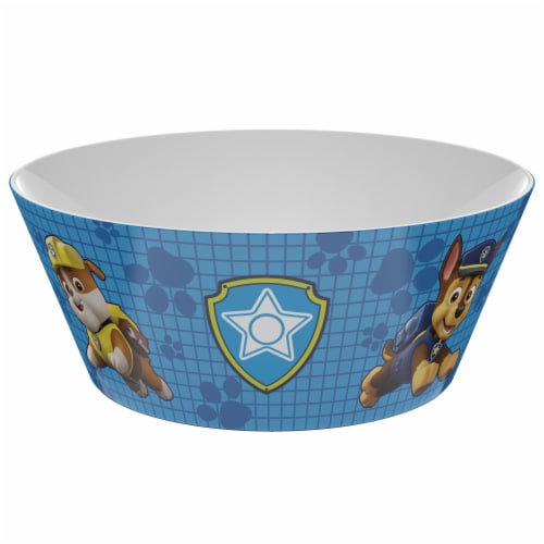 Zak Designs Paw Patrol Melamine Bowl Perspective: front