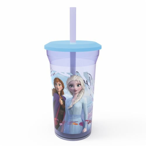 Zak Designs Disney Frozen 2 Fun Sip Tumbler Perspective: front