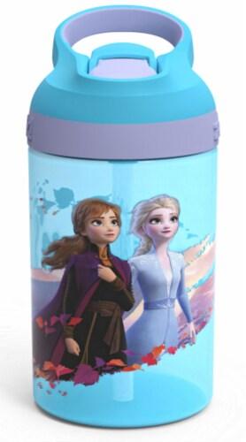 Zak Designs Frozen 2 Atlantic Bottle Perspective: front