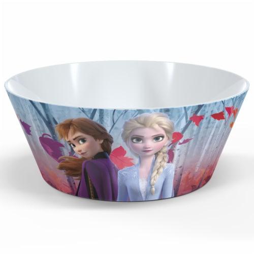 Zak Designs Frozen 2 Melamine Bowl Perspective: front