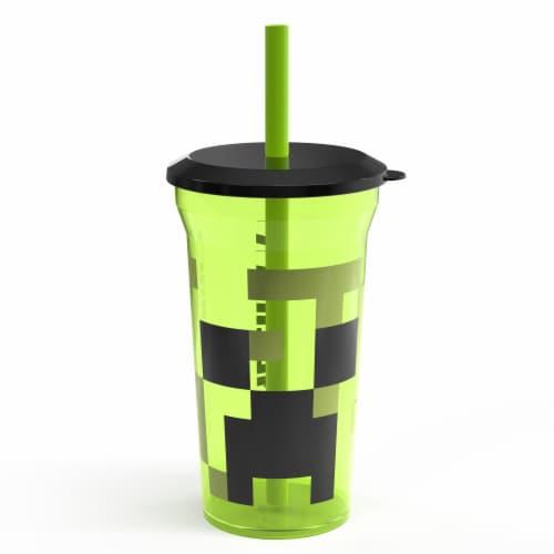 Zak Designs Minecraft Fun Sip Tumbler Perspective: front