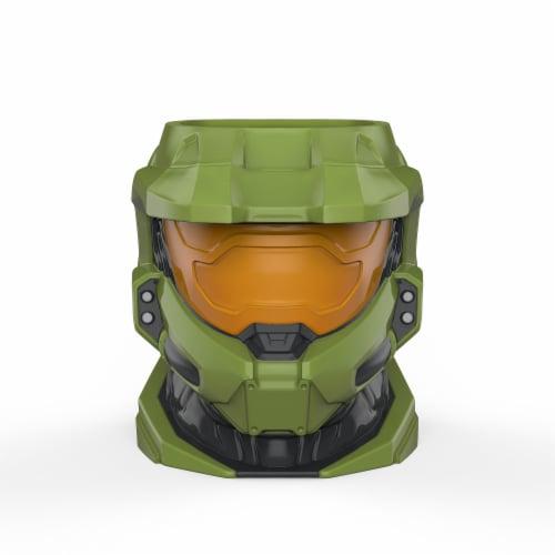 Zak Designs Halo Ceramic Sculpted Mug Perspective: front