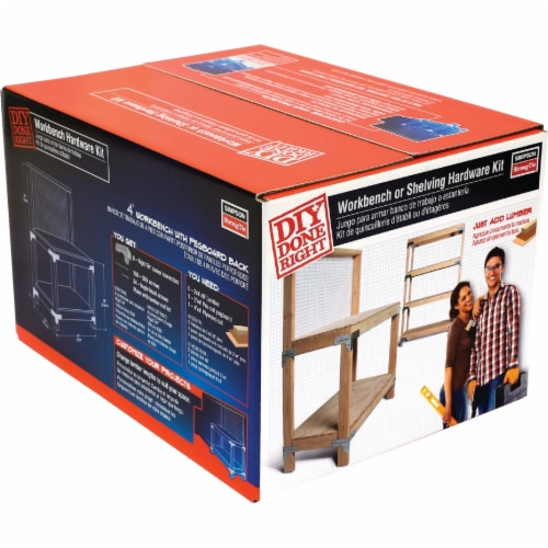 Simpson Strong-Tie Workbench & Shelf Kit WBSK Perspective: front