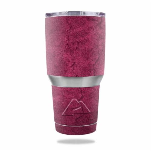 MightySkins OZTUM30-Pink Gravel Skin for Ozark Trail 30 oz Tumbler - Pink Gravel Perspective: front