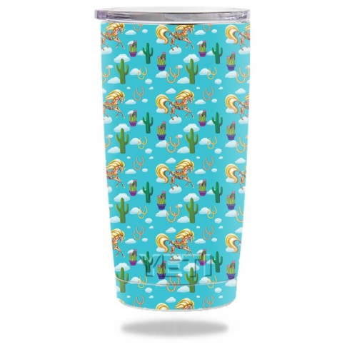 MightySkins YERAM20-Horse Ranch Skin for Yeti 20 oz Tumbler - Horse Ranch Perspective: front
