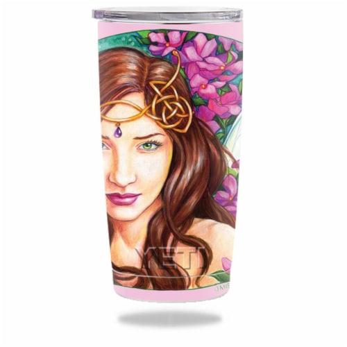 MightySkins YERAM20-Mystical Pinks Skin for Yeti 20 oz Tumbler - Mystical Pinks Perspective: front