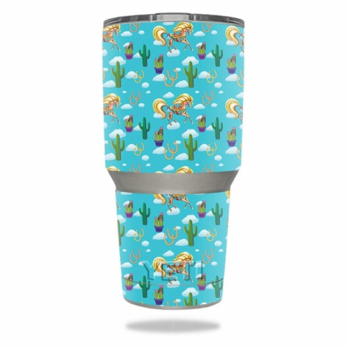MightySkins YERAM30-Horse Ranch Skin for Yeti 30 oz Tumbler - Horse Ranch Perspective: front