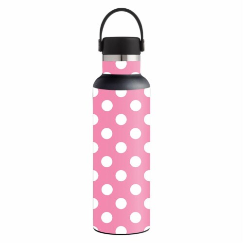 MightySkins HFST21-Mini Dots Skin for Hydro Flask 21 oz Standard Mouth - Mini Dots Perspective: front