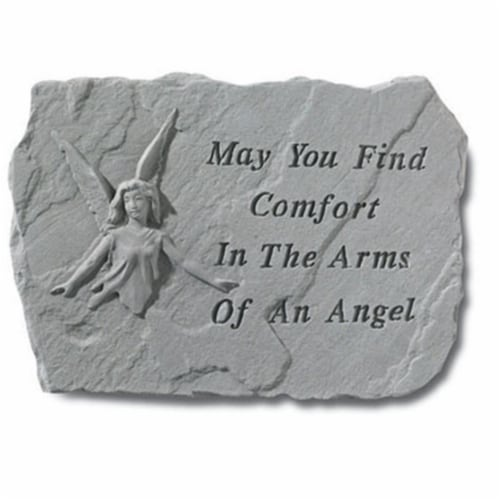 Kay Berry- Inc. 69320 May You Find Comfort In The Arms Of An Angel - Angel Memorial 18 Inches Perspective: front
