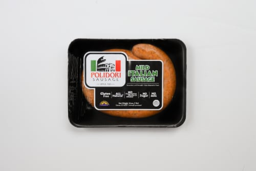 Polidori Mild Italian Sausage Perspective: front