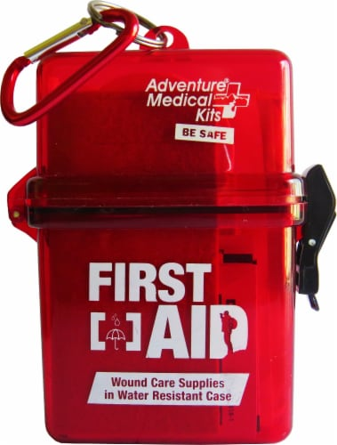 Adventure® Water-Resistant First Aid Kit Perspective: front