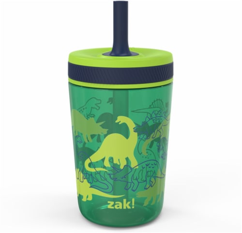 Zak Designs Dino Camo Single Wall Leakproof Tumbler Perspective: front