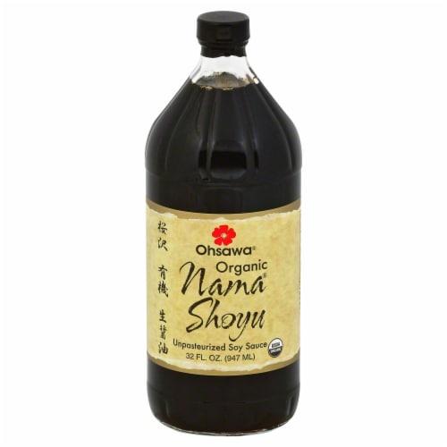 Ohsawa Organic Nama Shoyu Soy Sauce Perspective: front