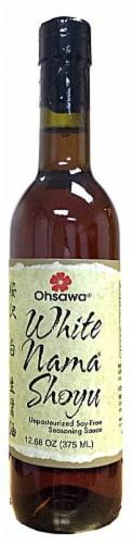 Ohsawa  White Nama® Shoyu Soy Sauce Perspective: front
