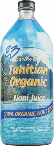 Earth's Bounty Tahitian Organic Noni Juice Perspective: front
