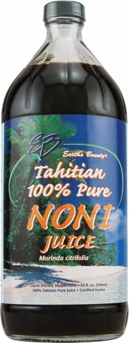 Earth's Bounty Tahitian Pure Noni Juice Perspective: front