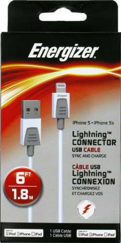 Fred Meyer - Energizer® Lightning™ Connector USB Cable for