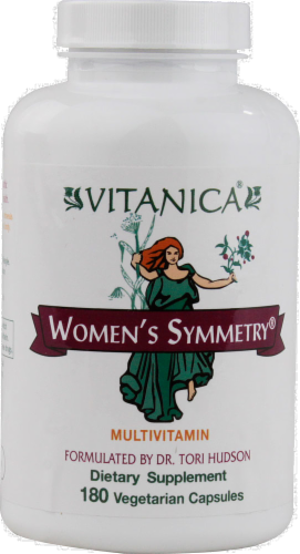 Vitanica Women's Symmetry Multivitamin Capsules Perspective: front