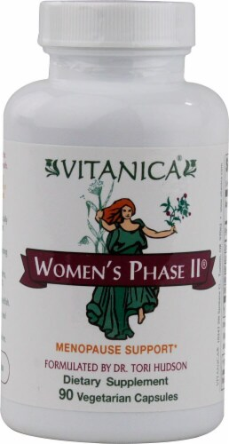 Vitanica  Women's Phase II® Menopause Support Perspective: front
