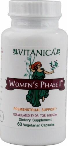 Vitanica  Women's Phase I™ Premenstrual Support Perspective: front
