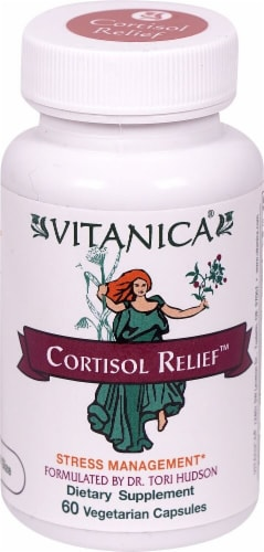 Vitanica  Cortisol Relief™ Perspective: front