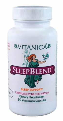 Vitanica Sleep Blend Capsules Perspective: front