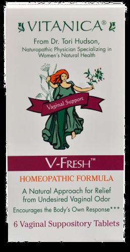 Vitanica V-Fresh Homeopathic Formula Perspective: front