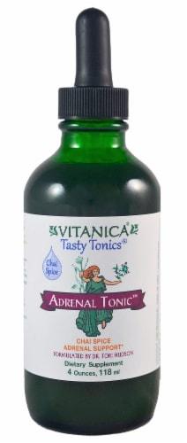 Vitanica Tasty Tonics Chai Spice Adrenal Tonic Perspective: front