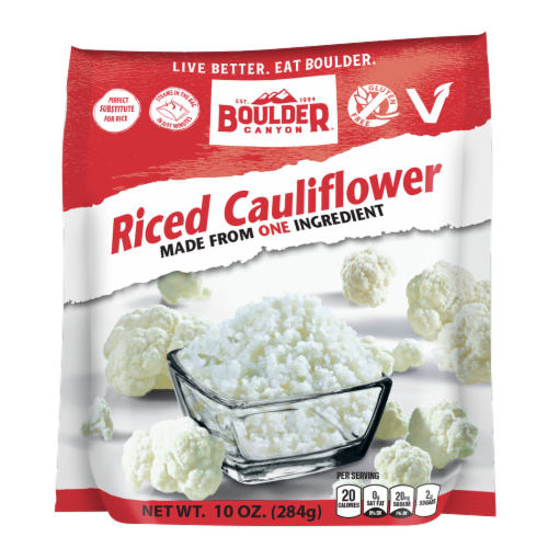 Boulder Canyon Riced Cauliflower Perspective: front