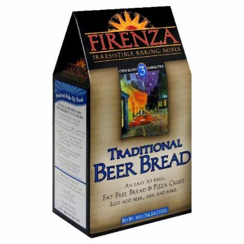 Firenza Traditional Beer Bread Mix Perspective: front
